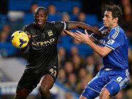 Yaya Touré gegen Frank Lampard