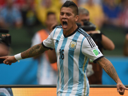 Ein neuer Verteidiger für Louis van Gaal: Der Argentinier Marcos Rojo.