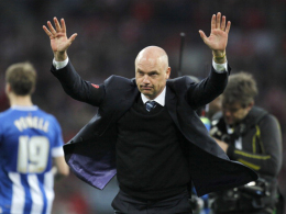 Abschied: Uwe Rösler ist nicht mehr länger Trainer von Wigan Athletic.
