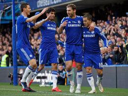 Nicht genug: Das Führungstor von Jovanovic reichte Chelsea gegen Swansea nicht zum Sieg.