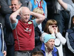 Ein Burnley-Fan in Hull