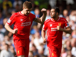 Wurde an der Stamford Bridge erst verhöhnt, dann beklatscht: Reds-Legende Steven Gerrard.