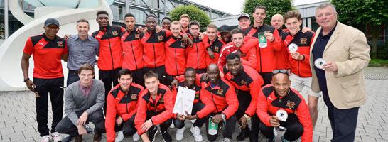 Sheffield FC zu Gast beim DFB