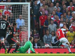 �zil initiiert Arsenals Blitzstart zum 3:0 - Agueros F�nferpack
