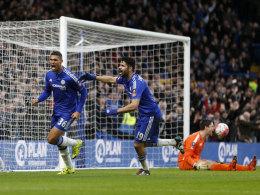Chelsea weiter - Spurs mit Wimmer 2:2 gegen Leicester