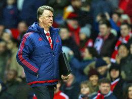 Van Gaal warnt vor einer Gerrard-Reaktion