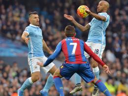 Torschützen auf einen Blick: Aguero (l.) und Kollege Delph (Manchester City)