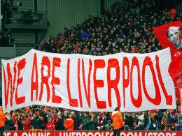 Liverpool-Fans wollen in der 77. Minute gehen