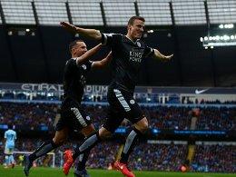 Matchwinner Huth - Leicester sch�ttelt ManCity ab