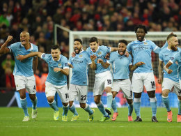 Manchester City jubelt