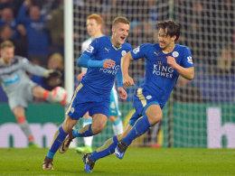 Leicester zieht wieder davon - dank Okazakis Traumtor
