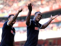 Arsenal wacht gegen Watford zu sp�t auf