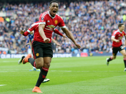 Martial mit dem Lucky Punch - ManUnited im Finale