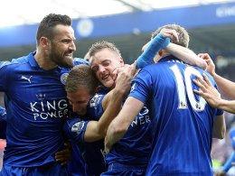 Klare Sache: Leicester siegt vor der Meisterfeier