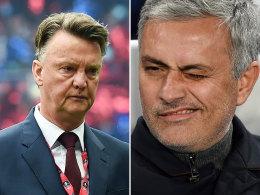 ManUnited entl�sst van Gaal - Mourinho steht bereit