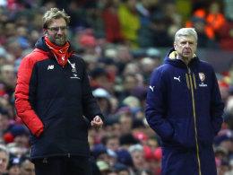Klopp startet bei Arsenal - Pep vs. Mourinho am 4. Spieltag