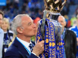 Rentenvertrag! Leicester verl�ngert mit Ranieri