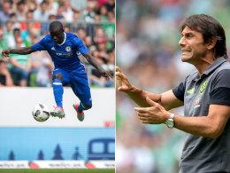 Trotz Conte, trotz Kant�: Chelseas gewagte Tr�ume