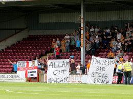 Frust statt Lust: Fans von Hull City.