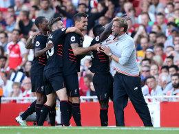 Jürgen Klopp nach dem zwischenzeitlichen 4:1 für Liverpool bei Arsenal