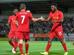 Kantersieg f�r Liverpool - Blues knapp weiter