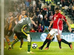 �zil trifft bei Arsenal-Sieg - Rashford rettet ManUnited