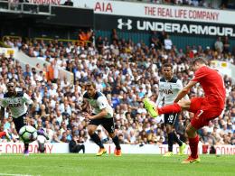 Remis gegen die Spurs - Liverpool verspielt F�hrung