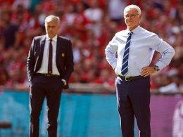 Furchtloser Ranieri: Auf ein Glas mit Mourinho