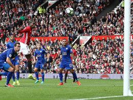ManUnited überrollt Leicester ohne Bankdrücker Rooney