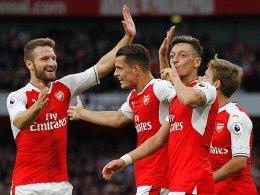 Arsenal im Rausch - Liverpool und Son bärenstark