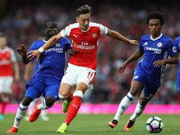 LIVE! Mit einem 3:0 im Rücken: Arsenal verwaltet