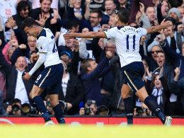 Spurs spielen ManCity schwindelig - Arsenals Hand-Tor