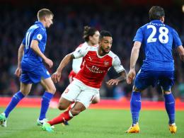 Premier League beginnt mit Arsenal gegen Leicester