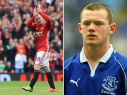 Trikot statt Schlafanzug: Rooney stürmt wieder für Everton