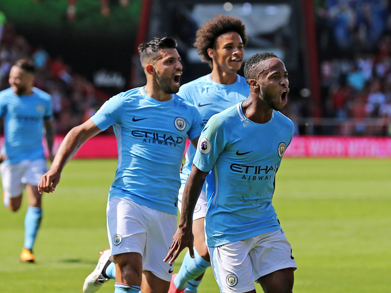 ManCity feiert Last- Minute- Sieg in Bournemouth