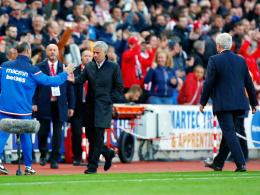 Handschlag verweigert: Hughes und Mourinho im Clinch