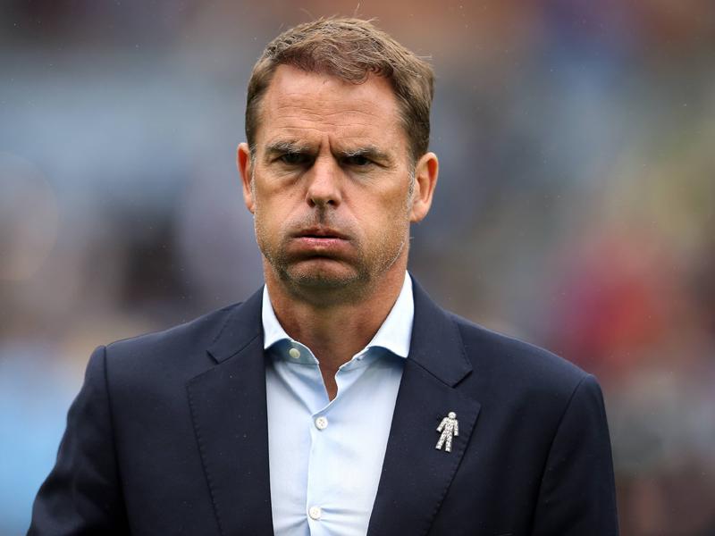Kürzeste Amtszeit der Premier League: De Boer entlassen