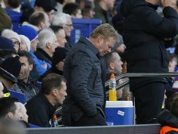 Everton zieht Schlussstrich: Koeman muss gehen