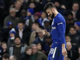 Giroud trifft in Blau: 4:0 gegen Hull