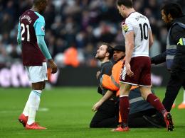 Klubbosse verjagt: Fan-Eklat bei West-Ham-Spiel