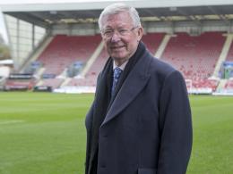 Sir Alex Ferguson wegen Gehirnblutung notoperiert