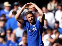 Dank Giroud: Chelsea bleibt im Rennen um Platz vier
