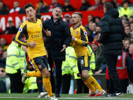 Mourinhos Theatralik-Lauf: Arsenals Joker schocken United