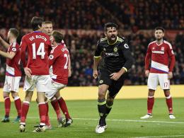 Sechster Sieg in Serie: Costa schießt Chelsea auf 1