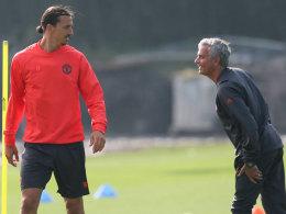 Mourinho: Ibrahimovic bleibt ein weiteres Jahr