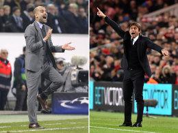 Pep vs. Conte: Wer gewinnt das Taktikduell?