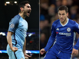 LIVE! Kampf um die Spitze: ManCity vs. Chelsea
