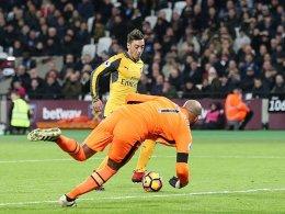 Sanchez zum Dritten: 5:1 für Arsenal!