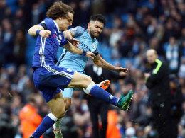 Nach Horrorfoul an Luiz: Vier Spiele Sperre für Aguero