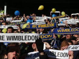 Wimbledon-Fans boykottieren Stadionessen bei MK Dons